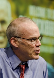 Bill McKibben, founder of 350.org, is organizing a demonstration in Washington to stop the Keystone XL pipeline.