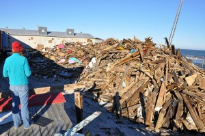 Many residents on the New Jersey coast, which was devastated by Hurricane Sandy in October, say they have not yet recovered.