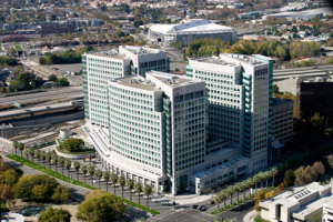 Adobe's West Tower at its San Jose Headquarters was the first building in the world to achieve LEED certification at the platinum level for existing buildings in June 2006.